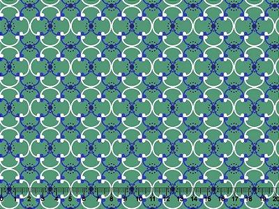 Tecido Tricoline Textura Geométrica