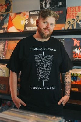 CAMISETA CHURRASCO GREGO
