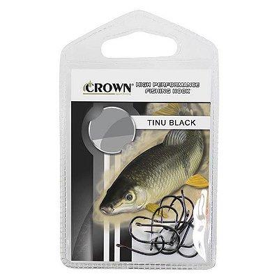 Anzol Crown Tinu Black 2BH 10pçs