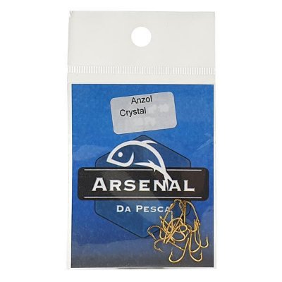 Anzol Arsenal Crystal Gold 15pç