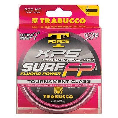 Linha Trabucco XPS Surf FP Nano 300m 0.25mm - Rosa