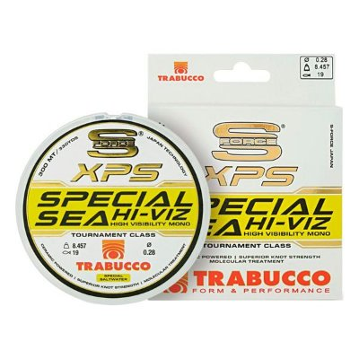 Linha Trabucco XPS Special Sea Hi-Viz Branca 300m - 0.25mm