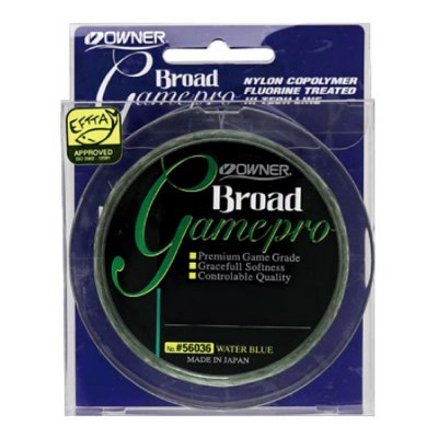 Linha Owner Broad Game Pro 300m 0.18mm - Verde