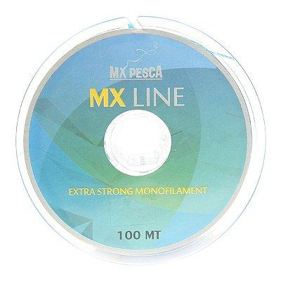Linha MX Line 100m Azul - 0.18mm
