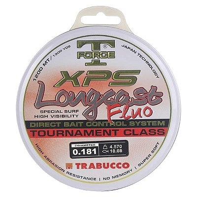 Linha Trabucco XPS Longcast Fluo 1200m 0.181mm - Laranja