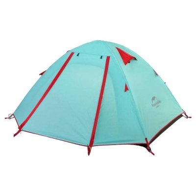 Barraca Naturehike Pro Series 2P Alumínio - Azul/Vermelho