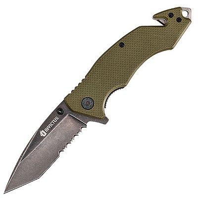 Canivete Tático Invictus Poison Lâmina 2.6mm Aço Inox 3CR