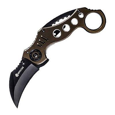 Canivete Tático Invictus Shark Green Lâmina 2.5mm Aço Inox 420