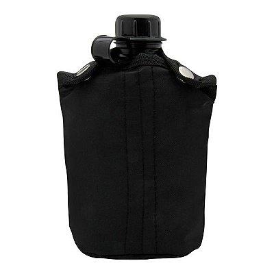 Cantil Plástico NTK 900ml c/ Capa (12x18.5x7.5cm) - Preto