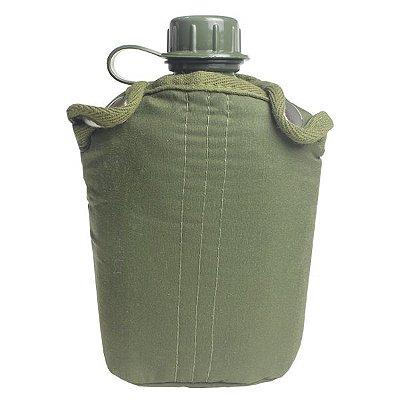 Cantil Plástico NTK 900ml c/ Capa (12x18.5x7.5cm) - Verde