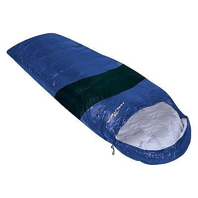 Saco de Dormir NTK Viper 5º a 12º - Preto/Azul