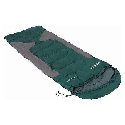 Saco de Dormir NTK Freedom -1°C -3.5°C Verde/Cinza