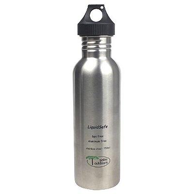 Garrafa Inox Bpa Free LiquidSafe 750ml - Prata (Polido)