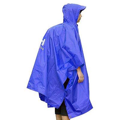 Poncho Impermeável Naturehike Unisex Multifuncional - Azul