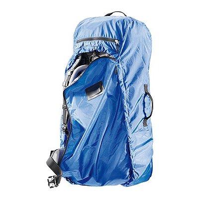 Capa Impermeável para Mochila Deuter Transport Cover 60-90L - Azul
