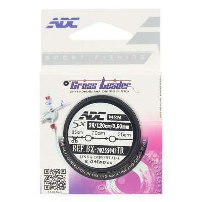 Linha Cross Leader ADC 0.50mm 5x120cm Rotor 4.0mm