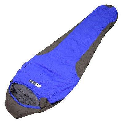 Saco de Dormir Azteq Zion -10ºC a -4ºC - Azul/Cinza