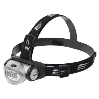Lanterna de Cabeça NTK Turbo Led 20 Lumnes 8 Ldes 3 Funções