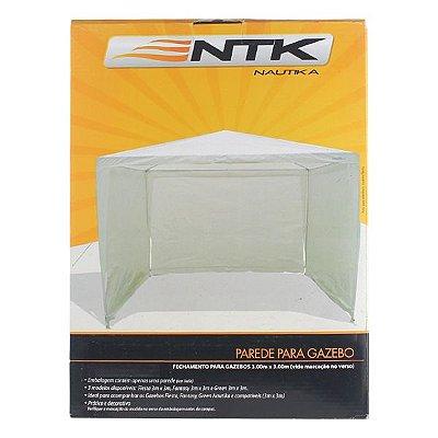 Parede Lateral Gazebo Fiesta NTK 3x3x2.5 - Branco