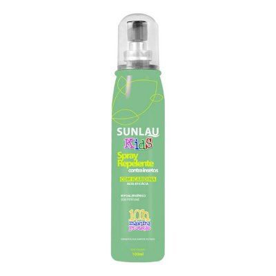 Repelente Sunlau Kids Spray c/ Icaridina 100ml