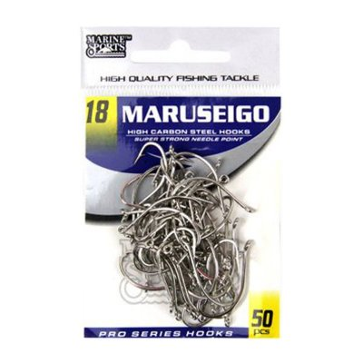 Anzol MS Maruseigo Nickel #18 - 50pçs