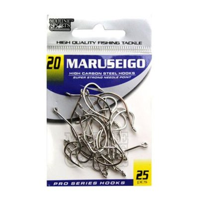 Anzol MS Maruseigo Nickel #20 - 25pçs