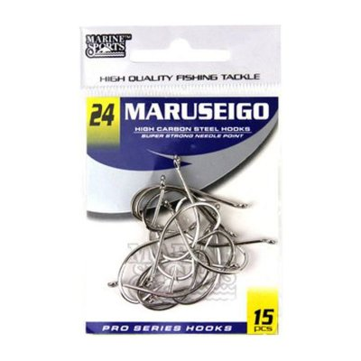 Anzol MS Maruseigo Nickel #24 - 15pçs
