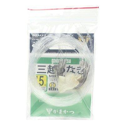 Anzol Gamakatsu Mikoshi Unagui EN #15 - 18pçs (Fio 0.60mm)