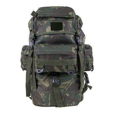Mochila Militar Bravo Mini PQD 18L Nylon - Camuflada EB