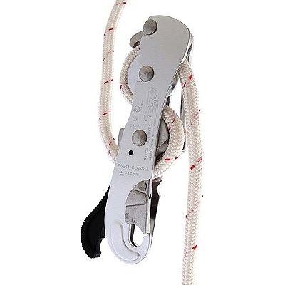 Descensor Alumínio c/ Trava Anti Pânico corda 10.5 / 11.0mm S-2199
