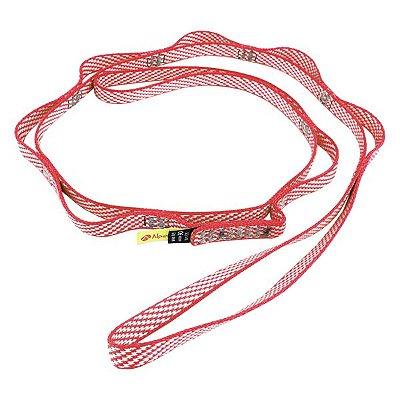 Fita de Segurança Conquista Daisy Chain Trad 22Kn 120cm - Vermelha