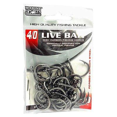 Anzol MS Live Bait #4/0 - 30pçs