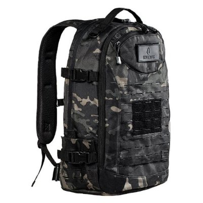 Mochila Invictus Rusher 40L - Multicam Black