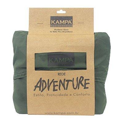 Rede de Descanso Kampa Adventure  - Verde Oliva (410g Carga 150kg)