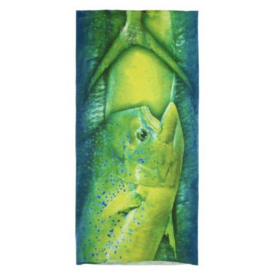 Bandana Albatroz Top Skin Fishes UV - Dourado Mar