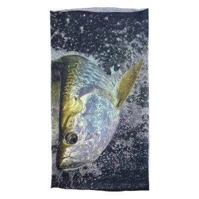 Bandana Albatroz Top Skin Fishes UV - Tarpon