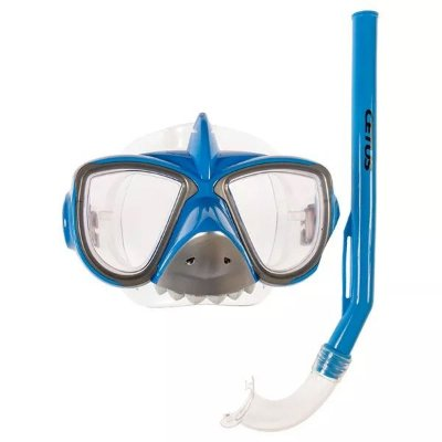 Kit de Mergulho Infantil Cetus PVC - Tubarão