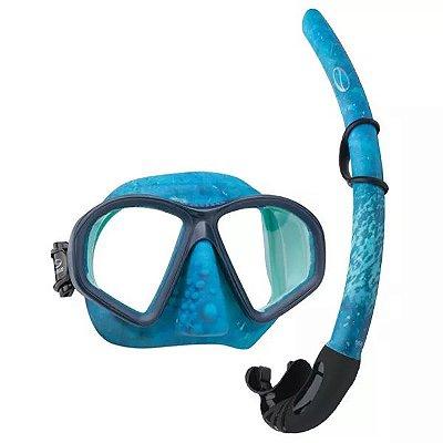 Kit p/ Pesca Sub Seasub Camo Silicone
