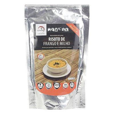 Refeição Liofoods Risoto de Frango e Milho 90g (2 porções)