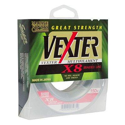 Linha MS Vexter X8 Verde 150m - 50lb 0.35mm