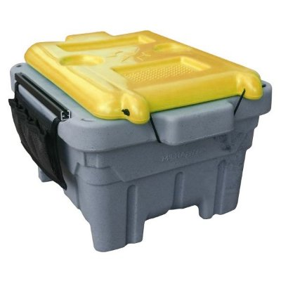 Caixa Estanque p/ Caiaque Milha Box - Amarelo