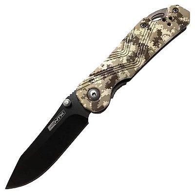 Canivete Tático NTK Snap Aço Inox