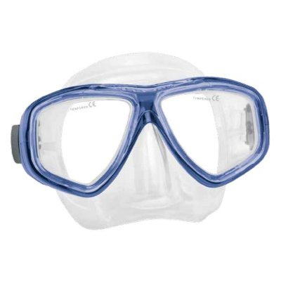 Máscara p/ Mergulho SeaSub Silicone Splenda III - Azul
