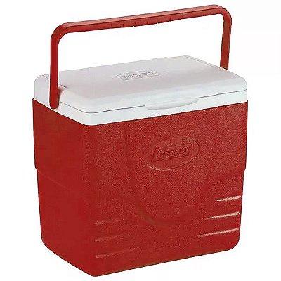 Caixa Térmica Coleman 16QT 15.1L - Vermelho