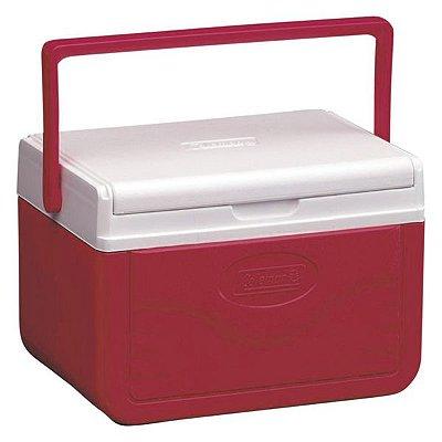 Caixa Térmica Coleman 05QT 4.7L - Vermelho
