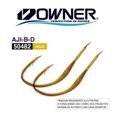 Anzol Owner 50482 Aji B-D Gold