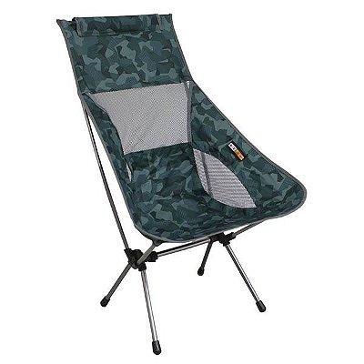 Cadeira Dobrável Azteq Kamel - Verde Camuflado