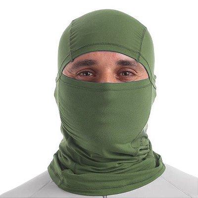 Capuz Protetor de Rosto para Pesca UV UPF50+  Fishing co. - Verde