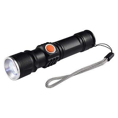 Lanterna Recarregável USB Led Azul UV HZ031040
