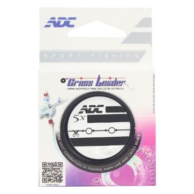 Linha Cross Leader ADC 0.60mm 5x135cm Rotor 4.0mm
